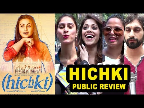 Hichki Movie Public REVIEW | First Day...