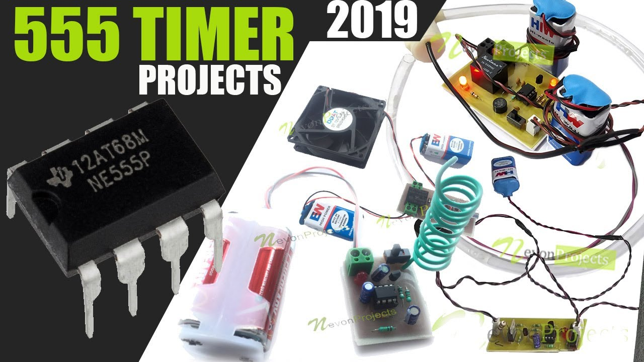 Top 5 simple electronics projects using 555 timer ic with free ppt.