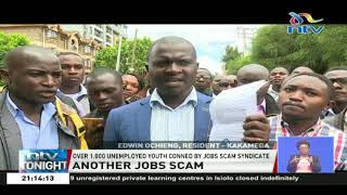 Over 1,000 unemployed youth conned by jobs scam syndicate in Nairobi