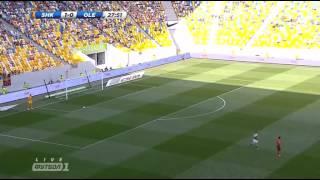 Шахтер Донецк  -   Александрия     1  тур    ( 1 тайм)