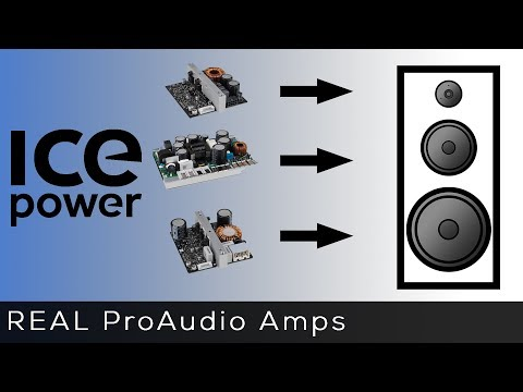 How to add ICEpower Amplifiers to your next project! - YouTube