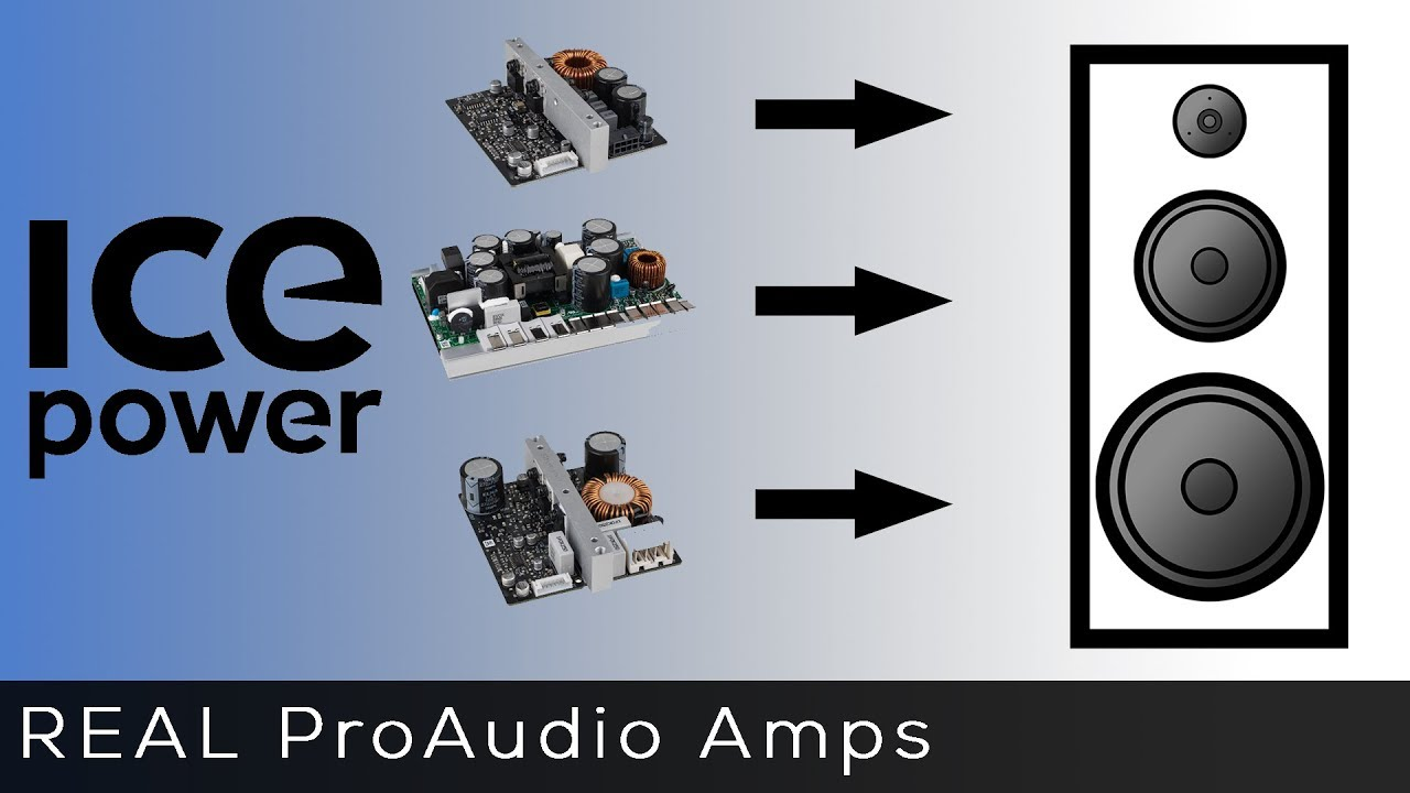 How to add ICEpower Amplifiers to your next project!