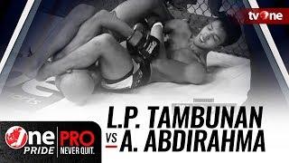 [HD] One Pride MMA 3: Lamhot P Tambunan vs Ahmad Abdirahma Y - FULL FIGHT