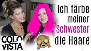 ICH FÄRBE MEINER 14-JÄHRIGEN SCHWESTER DIE HAARE ♡ Sarah Nowak