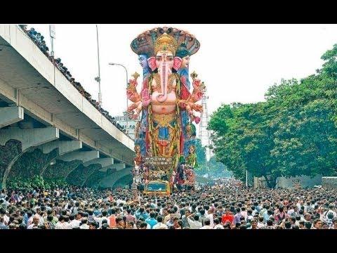 Khairatabad Ganesh Shobha Yatra Reach Telugu Talli Flyover | Hyderabad | HMTV