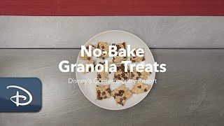 Easy No-Bake Granola Treats from Disney's Contemporary Resort Bakery | #DisneyMagicMoments