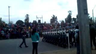 Encajonamiento Banda Escuela de Suboficiales 199º Aniversario Batalla de Rancagua