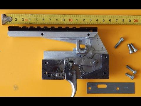 Спусковое устройство (замок) арбалета своими руками / Homemade Crossbow Trigger