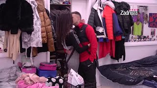 Zadruga 4 - Misica i Karić ozvaničili vezu poljupcima u dnevnom terminu - 10.02.2021.