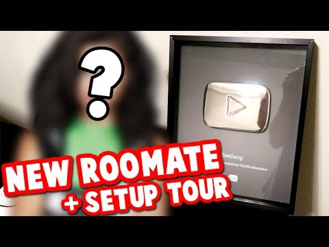 NEW ROOMMATE REVEAL + SETUP TOUR