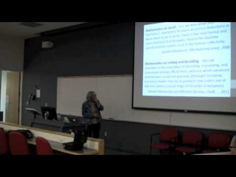 Ursula Martin: Mathematical Practice, Crowdsourcing and Social Machines