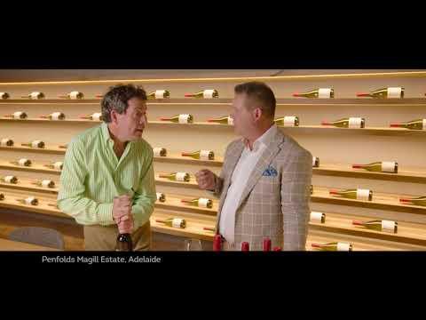 Gary Mehigan Gets A Taste Of Penfolds Grange