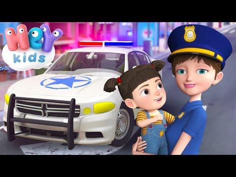 Paola Masciadri – Macchina della Polizia per bambini  Cartoni animati e canzoni per bimbi – HeyKids Italiano – Cantece pentru copii in limba italiana
