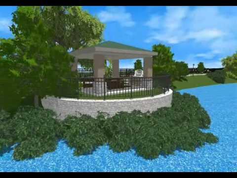 Pascocello Designs Animation Winter Garden Community Center Concept Youtube