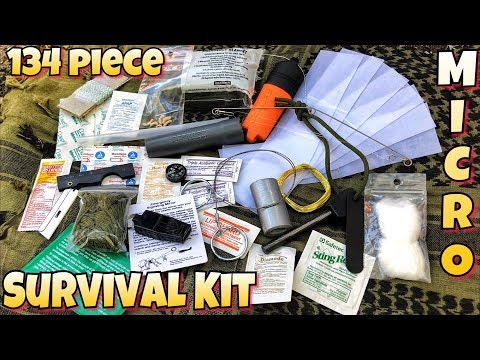 My Micro Every Day Carry 134 Piece Survival Kit | EDC