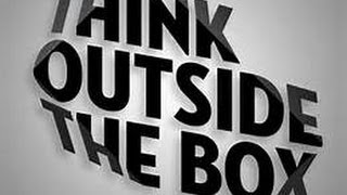 Think out of the Box - Expand your Comfort Zone - Creative Thinking with Kevin Hunter