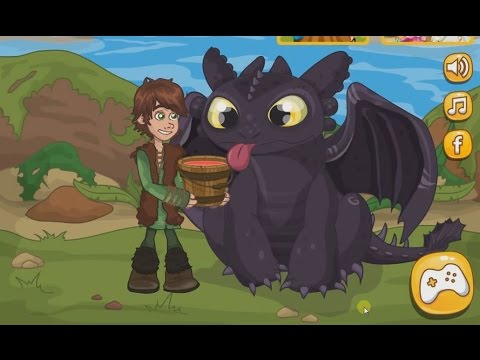 Pets games -  How to Train Your Dragon Lunch Surprise
