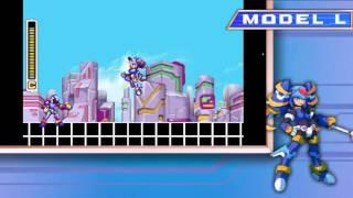 Megaman ZX Genesis Update 3 Model L and P
