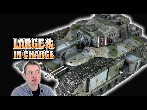 Mortian Battle Tank Giving Forge World A Run For Their Money