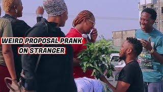 Weird Proposal Prank (Zfancy Prank)