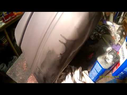 Best Way To Remove Spray Paint From Plastic Bumper extra scrub with acetone Part 5