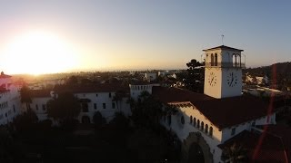 DJI Phantom 2 Vision at Santa Barbara Courthouse