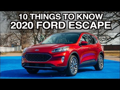10 Things About: 2020 Ford Escape on Everyman Driver