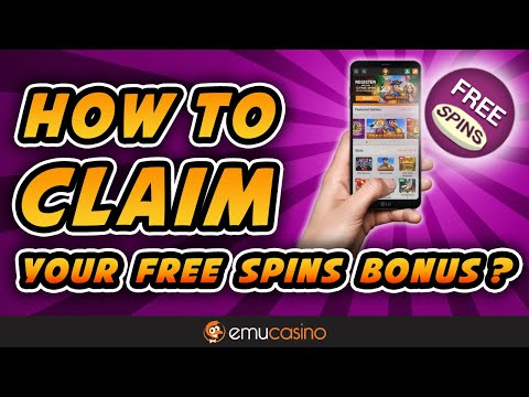Claim Your FREE SPINS On Sign Up - NO DEPOSIT BONUS | EmuCasino Mobile