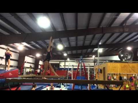 Katelyn Llewellyn gymnastics 2018