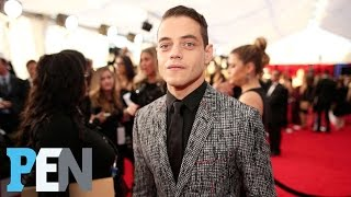 'Mr. Robot's' Rami Malek Reveals He Was Just Dancing With Bella Hadid | PEN | Entertainment Weekly