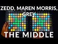 Zedd, Maren Morris, Grey - The Middle // Dual Launchpad Performance