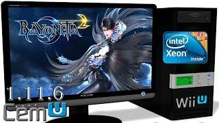 CEMU 1.11.6 Wii U Emulator - Bayonetta 2 (Ingame) #27 Video