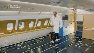 Zobacz jak montuje się nowoczesne kabiny w samolocie [Maszyny wagi ciężkiej]