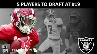Raiders 2020 NFL Draft: 5 Players The Las Vegas Raiders Should Target In The 1st Round #19th Overall