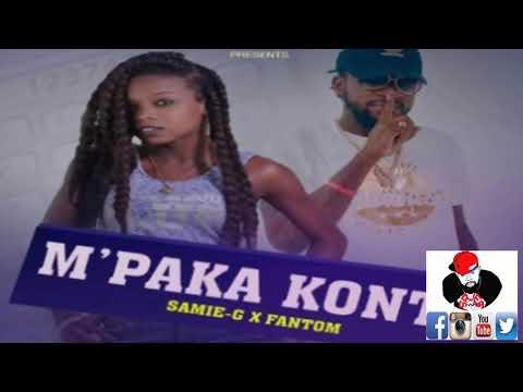 SAMIE-G ft FANTOM - M'pa konte (Official Audio) by SAJES NET ALE RAP KREYOL