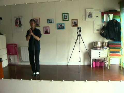 rythmique tap tap gobelet debout adaptée à zic Gotye (sbtiutk) avec Olivier (Happy Feet Nantes)