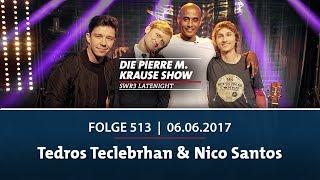 Die Pierre M. Krause Show | Folge 513 | Tedros Teclebrhan & Nico Santos