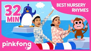 Baby Shark Dance and more | Best Nursery Rhymes | +Compilation | Pinkfong Songs for Children