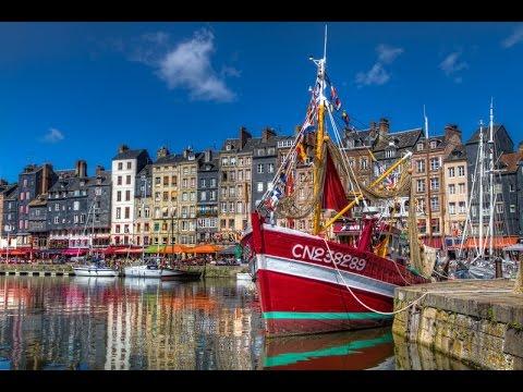 Honfleur city tour, France