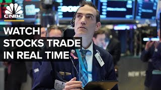 Watch stocks trade in real time – 3/12/2020