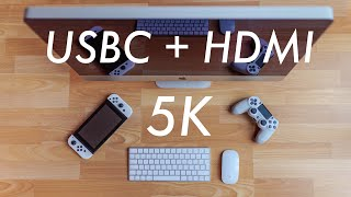 The Secret DIY Apple 5K Display // USBC & HDMI