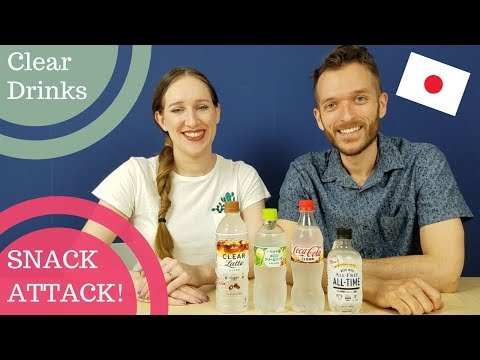 Clear Drinks from Japan | SNACK ATTACK