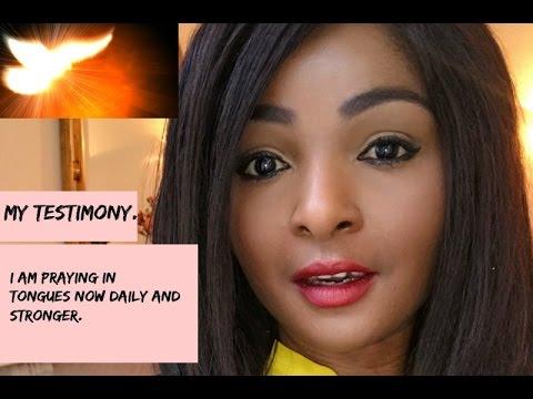 Omg! I spoke in tongues whilst praying  - YouTube