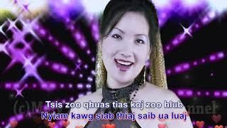 """Maiv Xyooj ~ """"Nyiam Koj Tiag Tsis Zoo Qhia"""" with lyrics ~ Original Music Video"""
