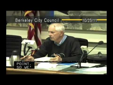 Berkeley City Council Meeting on Cell Phone Radiation 10252011
