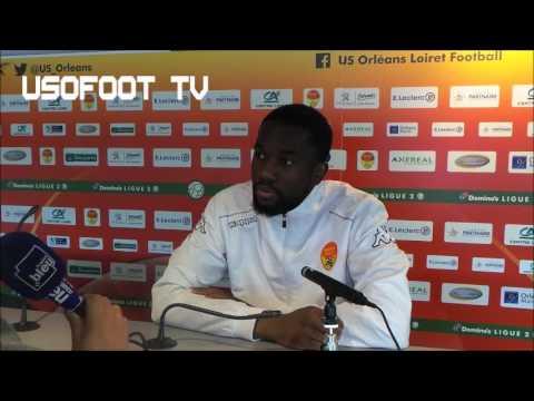 Conférence d'avant-match (J14) : Jean-Eudes Aholou (03/11/2016)