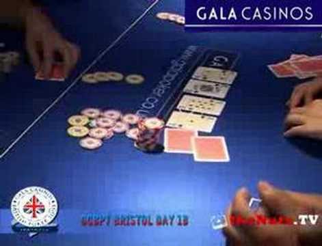 GCBPT Bristol:- Poker Action with Jac Arama and Shaggy