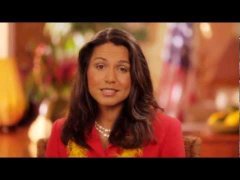 Tulsi Gabbard Announcing Running for Congress in Hawaii