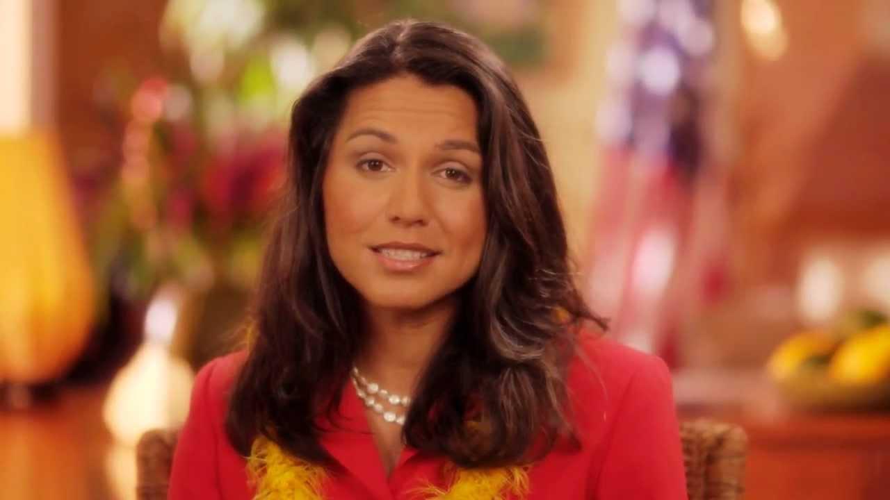 Tulsi Gabbard Announcing Running for Congress in Hawaii ...