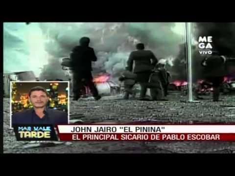 """Nota: John Jairo, """"El Pinina"""", el principal sicario de"""